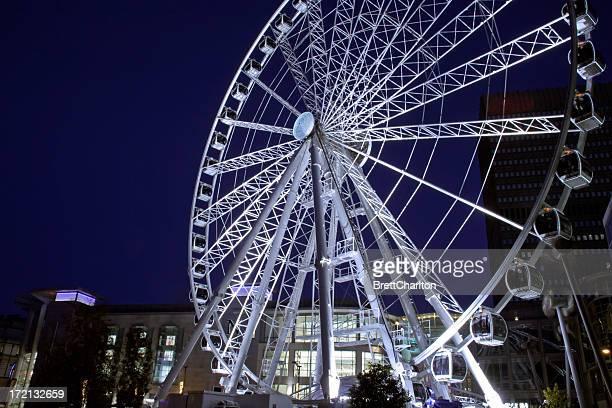 Centro da cidade de roda-gigante