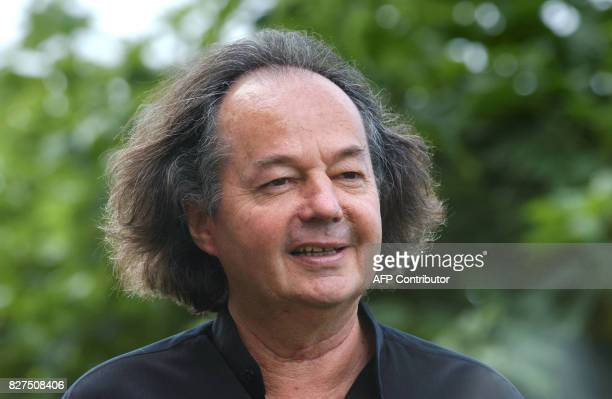 Picture of the french writer Gonzague SaintBris taken at the 32nd Deauville American film festival on the French northwestern coast 07 september 2006...