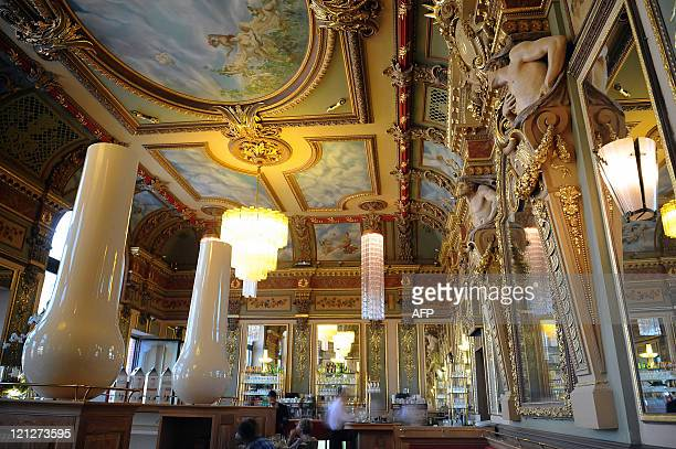 Picture of the main room of the famous restaurant the 'Bibent' on August 1 2011 on the Place du Capitole in Toulouse southwestern France This Belle...