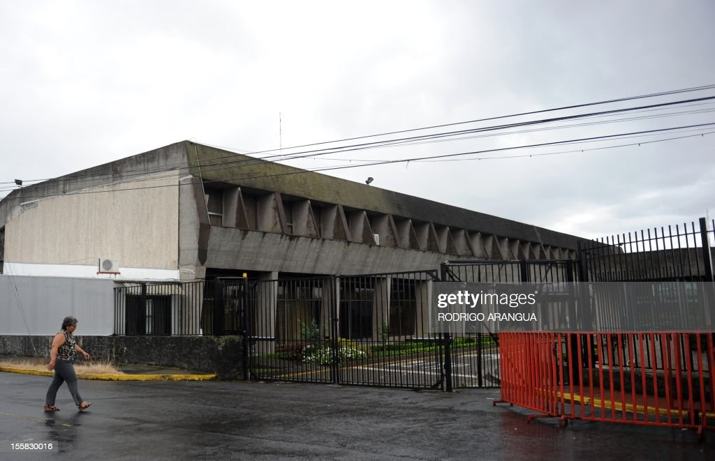 Picture of the Presidential House in downtown San Jose, Costa Rica, taken on November 8, 2012. AFP PHOTO/Rodrigo ARANGUA /