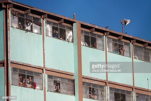 Picture of the Topo Chico prison in the northern city of Monterrey in Mexico where according to Nuevo Leon State governor at least 52 people died and...