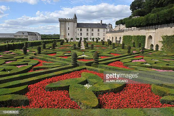 Picture of Villandry's chateau taken on August 24 2010 in Villandry central France The chateau of Villandry was built in 1536 the last large chateau...