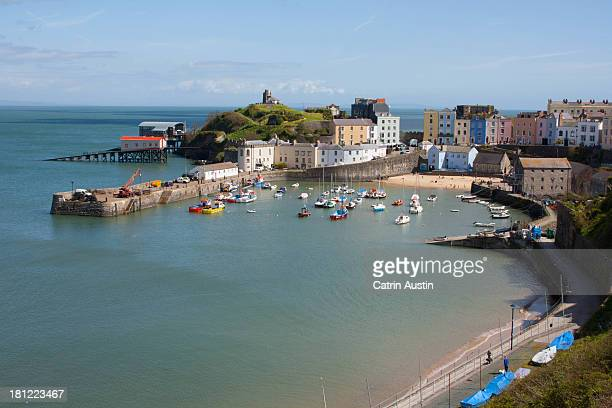 Picture postcard Tenby
