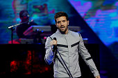 Spanish singer Pablo Alboran performs during Vina del Mar song Festival in Vina del Mar Chile on February 26 2016 AFP PHOTO / Aton Chile Luis G...
