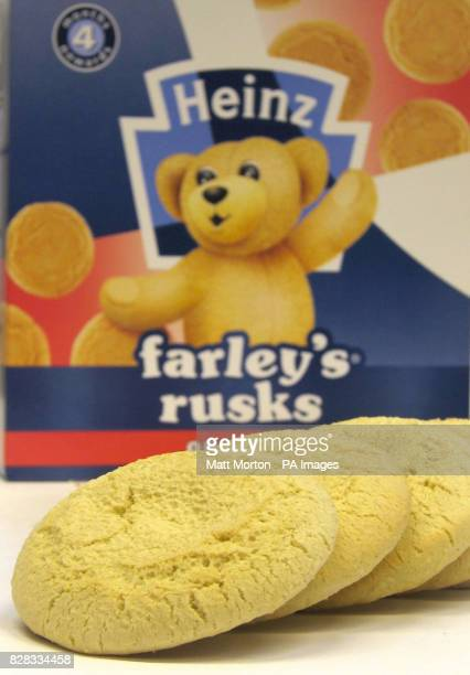 Picture showing Farley's Rusks Friday 3 February 2006 Thousands of packets of Farley's rusks are being removed from shop shelves after pesticide...
