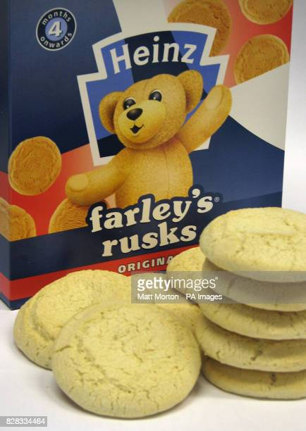 Picture showing Farley's Rusk's Friday 3 February 2006 Thousands of packets of Farley's rusks are being removed from shop shelves after pesticide...