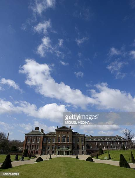 A picture shows a general view of the Kensington palace in central London on March 20 2012 AFP PHOTO/MIGUEL MEDINA