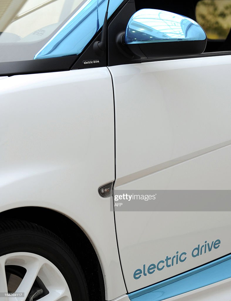 A picture shows a Smart ForTwo electric car at the Smart factory of Hambach, eastern France, on December 11, 2012. The third-generation Smart electric drive is scheduled to be launched in the U.S. and Europe by the second quarter of 2013 and Smart plans to mass produce the electric car with availability in 30 markets worldwide. VERHAEGEN