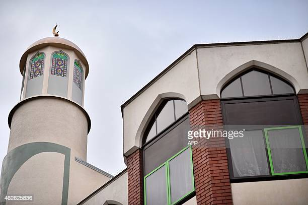 A picture shows Finsbury Park Mosque during a mosques open day in London on February 1 2015 Mosques around the UK opened their doors to the public on...