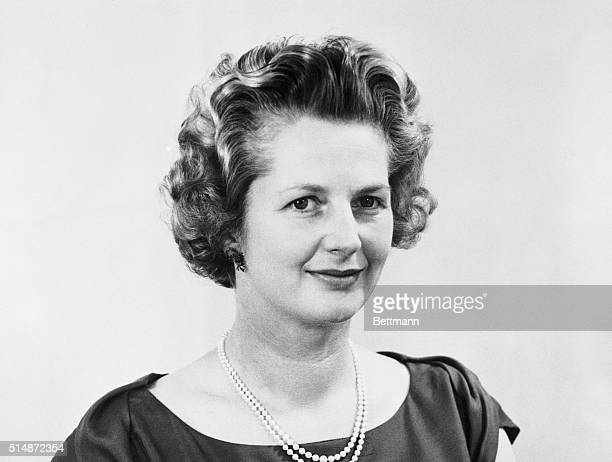Picture shows Mrs Margaret Thatcher MP September 1966
