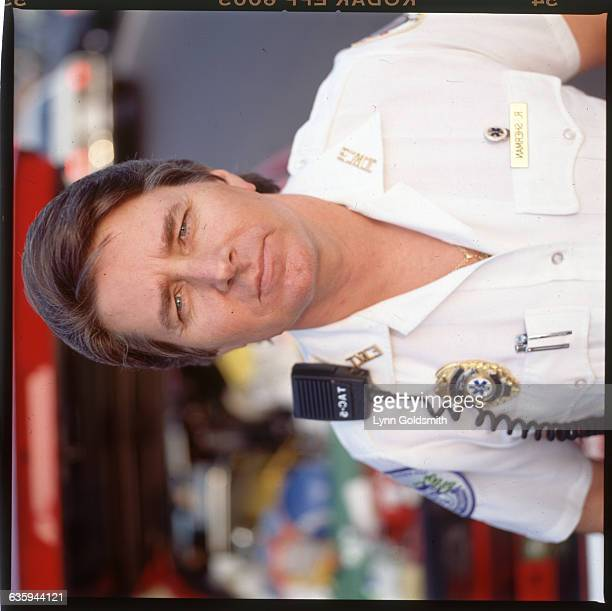 192 Picture shows musician Bobby Sherman dressed in a EMS uniform