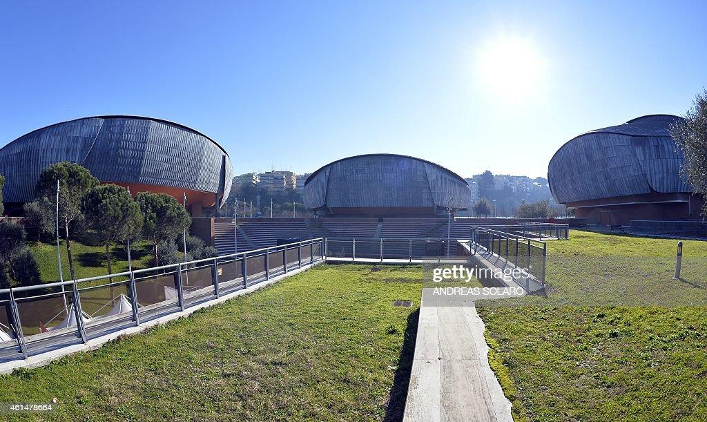 Renzo piano getty images for Auditorium parco della musica sala santa cecilia