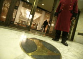 Picture shows the Hotel InterContinental London