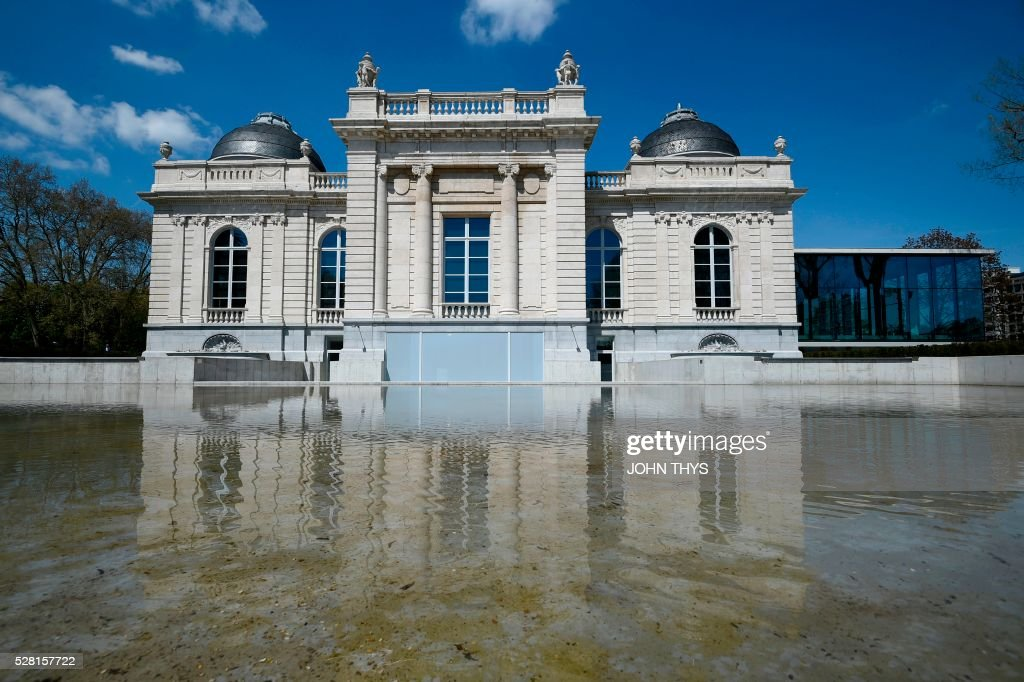 A picture shows the La Boverie museum on May 4, 2016 in Liege. The new museum La Boverie was inaugurated today, with an exhibition organised in partnership with Le Louvre museum. / AFP / JOHN