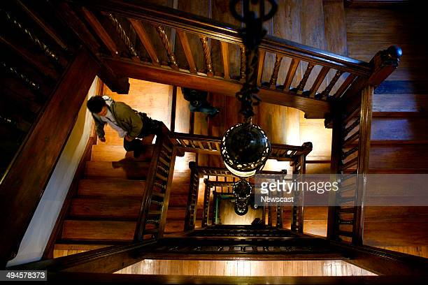 Picture shows the staircase inside a Liberty store