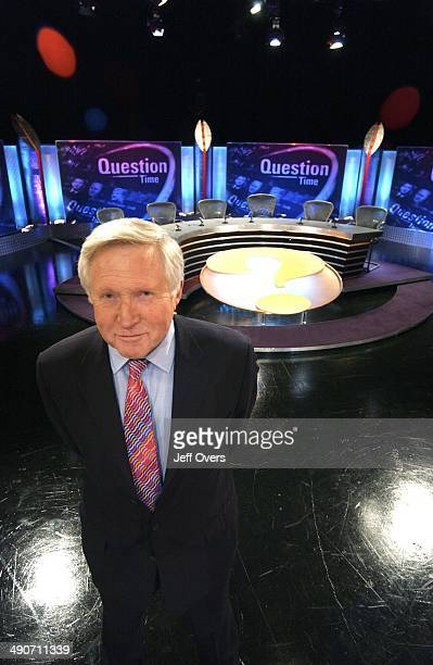 Picture showws David Dimbleby on 'Question Time' David Dimbleby invites the public to put key representatives on the hot seat and debate topical...