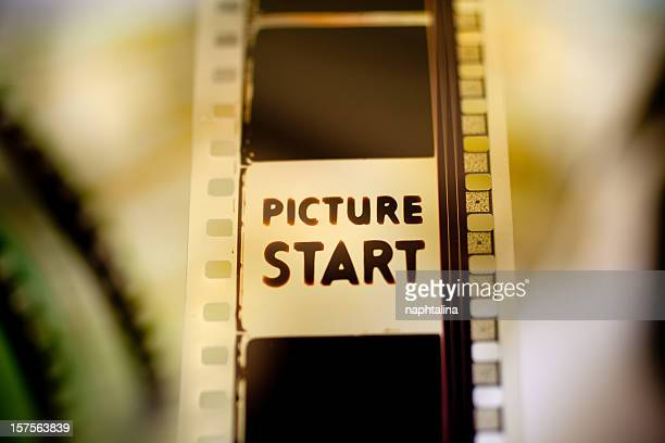 Picture start film frame