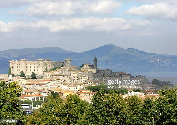 Picture taken 08 November 2006 of the Castello Odescalchi in Bracciano Hollywood superstar Tom Cruise will marry fiancee Katie Holmes in the lakeside...