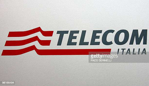 Picture taken 13 September 2006 shows the logo of Telecom Italia 13 September 2006 Telecom Italia's decision to break up its local fixed network and...