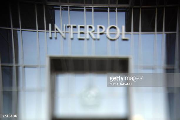 A picture taken 19 October 2007 in Lyon shows Interpol's building after a press conference of JeanMichel Louboutin international police organisation...