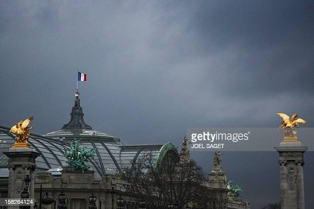Picture taken 21 January 2008 of the Grand Palais museum located in the centre of Paris Built by four architects on the occasion of the 1900 World...