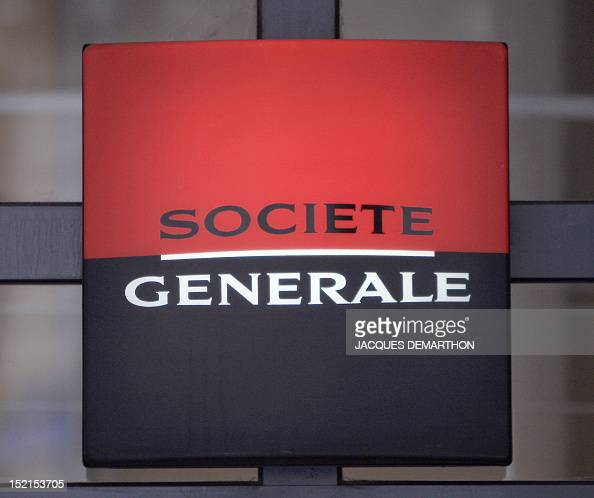 A picture taken 24 January 2008 in Paris shows the logo of the French banking giant Societe Generale Societe Generale said Today that a single rogue...