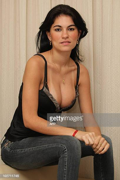 Picture taken August 18 2009 of Brazilian model Eliza Samudio exgirlfriend of footballer Bruno Fernandes de Souza in Rio de Janeiro Brazil De Sousa a...