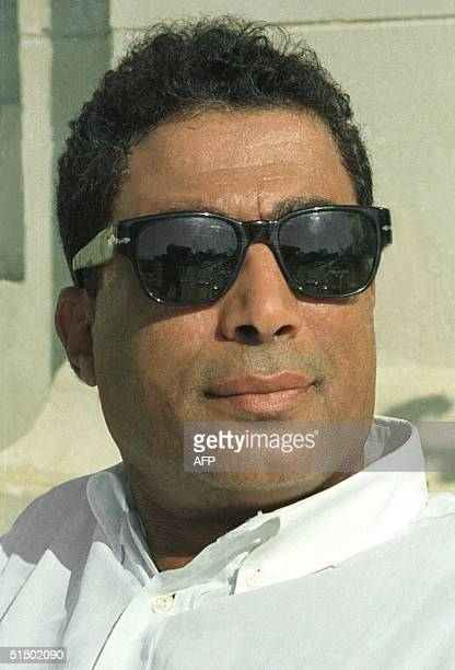 Picture taken in Cairo 14 August 1998 shows Egyptian film star Ahmad Zaki who remains since the late 70s the best actor of his generation a master of...