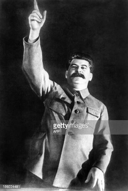 Picture taken in the 1930s in Moscow of Yossif V Dzhugashvili known as Josef Stalin Soviet head of state AFP PHOTO