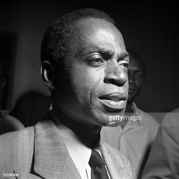 Picture taken on 1945 on Felix HouphouëtBoigny in Treichville Abidjan