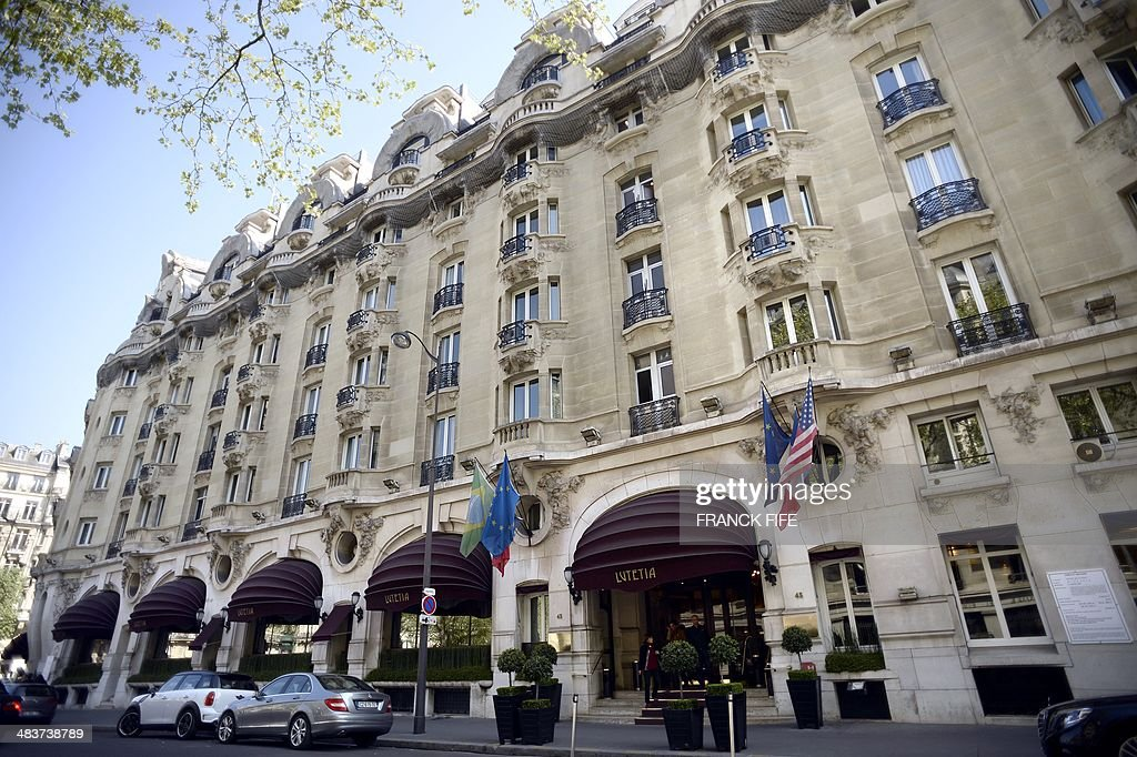 A picture taken on April 10, 2014, shows the facade of the luxury hotel 'Lutetia' in Paris. The hotel, built in 1910 by French architects Louis-Charles Boileau and Henri Tauzin, will close its doors on April 14, 2014, prior to a total renovation. Throughout the years, various celebrities stayed at the 'Lutetia', such as French author and winner of the Nobel Prize in Literature in 1947 Andre Gide, American-born French actress Josephine Baker and French General Charles de Gaulle on the occasion of his wedding night. AFP PHOTO / FRANCK FIFE