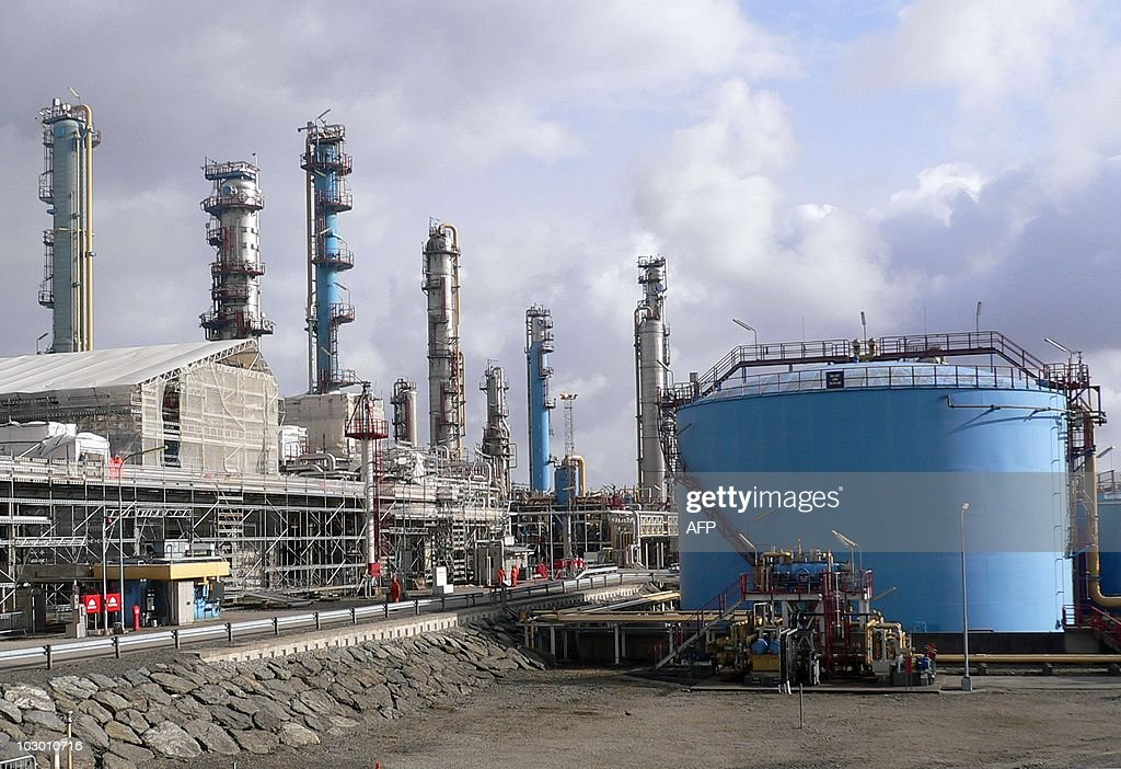 A picture taken on April 15 2010 shows a Statoil gas processing plant in Kaarstoe As western Europe's dependence on Russia's natural gas reserves has...