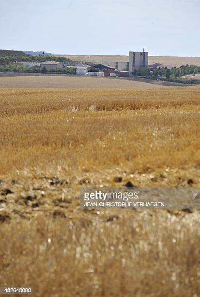 A picture taken on August 1 2015 in Bure eastern France shows a view of the Underground Laboratory operated by the French National Radioactive Waste...