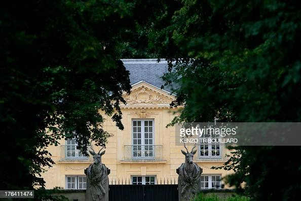 a picture taken on august 12 2013 shows la lanterne an official state residence in versailles. Black Bedroom Furniture Sets. Home Design Ideas