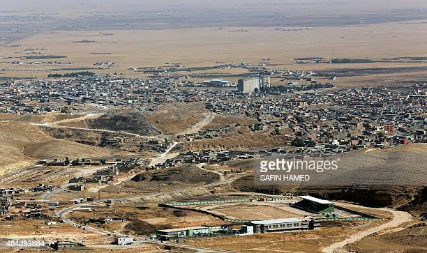 A picture taken on August 17 2015 shows a general view of the northern Iraqi town of Sinjar west of the city of Mosul AFP PHOTO / SAFIN HAMED