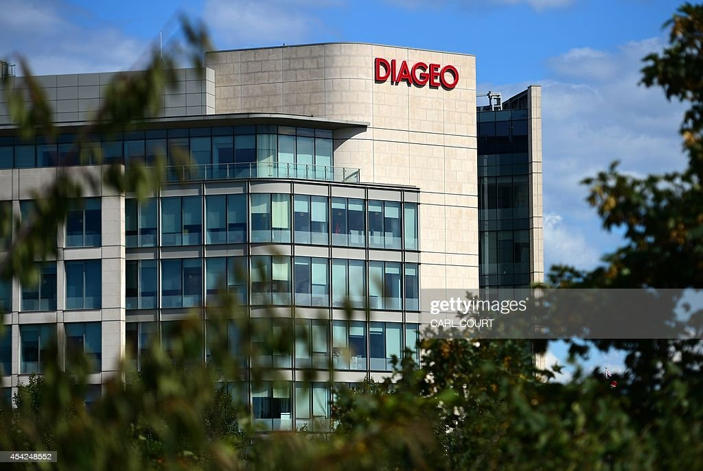 A picture taken on August 22, 2014 shows the exterior of the headquarters of British multinational drinks company, Diageo, in west London. British business leaders have warned against independence for Scotland, saying the uncertainty it could trigger over future policies is bad for business. The multinational Diageo drinks group, which owns the Johnnie Walker brand and also select labels such as Lagavulin and Talisker, said there are 'many questions to be answered'. Diageo, which is investing the equivalent of 1.25 billion euros ($1.6 billion) over five years in its distilleries in Scotland, has said it would be concerned about any outcome which increased costs, complexity or uncertainty.