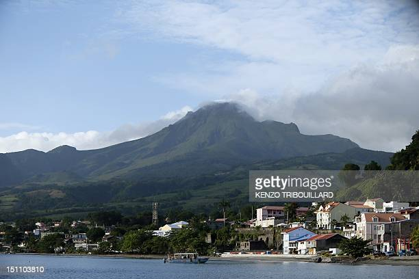 A picture taken on August 31 2012 shows La Montagne Pelee seen from the city of SaintPierre on the French Caribbean territory of La Martinique AFP...