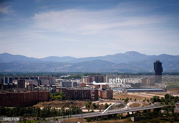 A picture taken on August 7 2012 shows the 100m tall Rosaleda Tower in Ponferrada northern Spain AFP PHOTO / MIGUEL RIOPA