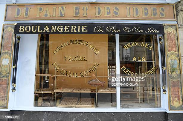 A picture taken on August 9 2013 shows a bakery closed in Paris AFP PHOTO BERTRAND GUAY