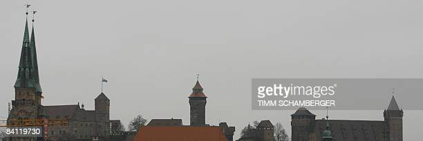 Picture taken on December 19 2008 shows a panarama of the skyline in the of the southern German city of Nuremberg AFP PHOTO DDP / TIMM SCHAMBERGER...