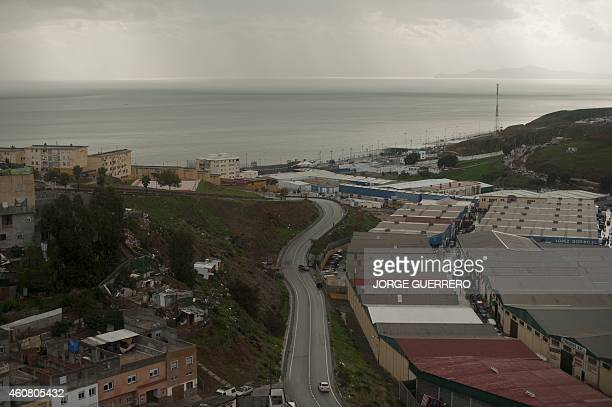 A picture taken on December 3 2014 shows a general view of El Principe district in Ceuta AFP PHOTO/ JORGE GUERRERO