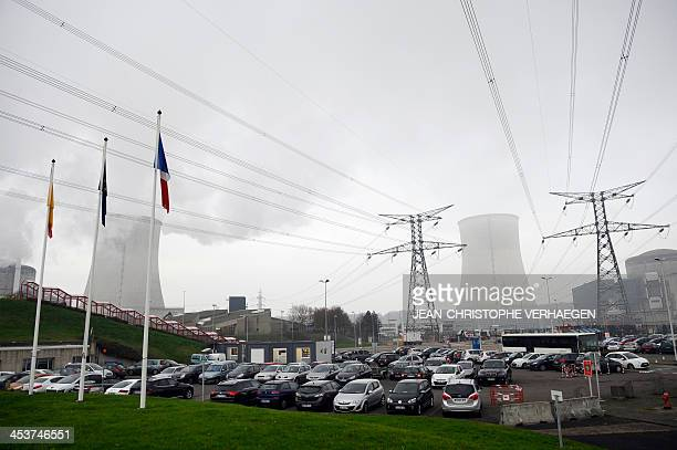A picture taken on December 4 2013 shows the Cattenom nuclear power plant eastern France AFP PHOTO / JEANCHRISTOPHE VERHAEGEN