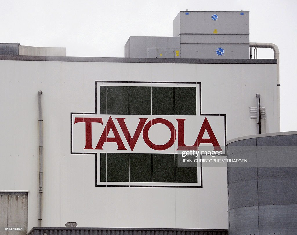 A picture taken on February 11, 2013 in Capellen shows a facade of the Tavola plant, a subsidiary of Comigel which supplies frozen meals to supermarket chains and other clients to around 15 countries. The French food company Comigel which supplied frozen lasagne to British supermarkets found to contain up to 100 percent horsemeat, today shut down its website and declined to answer media enquiries. It risks being subject to large fines as a result of the scandal, even if it is discovered that the alleged fraud has been committed by its suppliers.