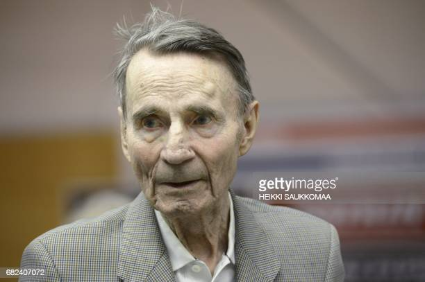 Picture taken on February 13 2014 shows former Finnish President Mauno Koivisto in Helsinki The former Finnish President died on May 12 2017 at the...