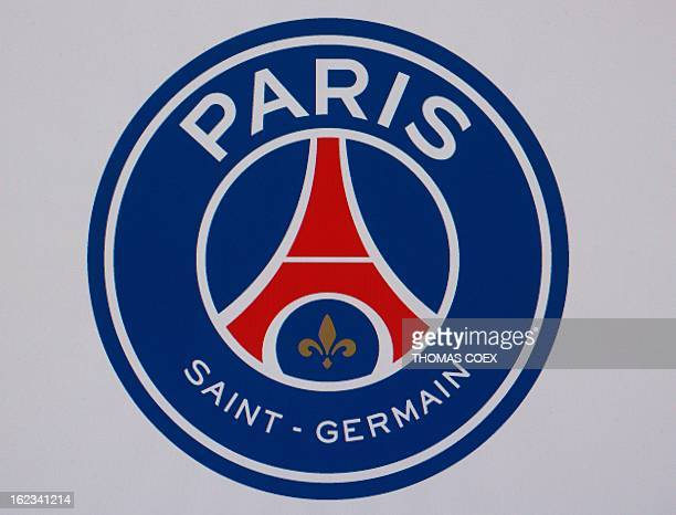 A picture taken on February 22 2013 in Paris shows French L1 Paris SaintGermain football club's new logo unveiled on the club's official website AFP...