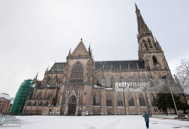 Picture taken on February 8 2015 shows the Linz Cathedral A lawyer in Austria said on February 5 2015 he has written directly to Pope Francis seeking...
