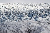 A picture taken on July 19 2015 shows the Nordenskjoldbreen glacier in the Spitbergen province of the Svalbard archipelago in the Arctic Ocean AFP...