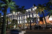 A picture taken on March 24 2009 in Cannes on the French Riviera shows the Intercontinental Carlton hotelTop US bank Morgan Stanley announced on...