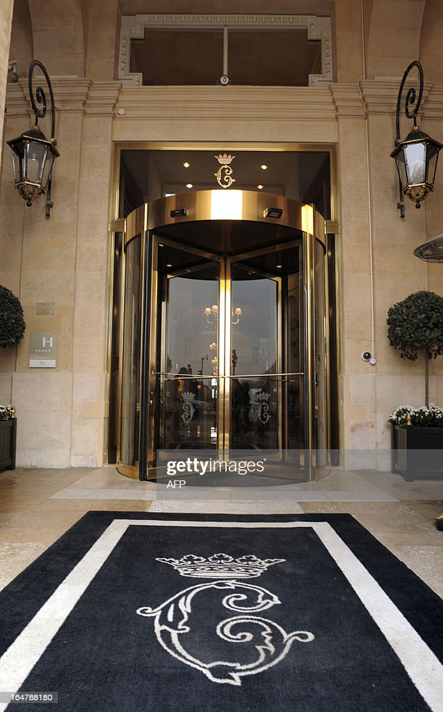 Hotel Entrance Doors : Picture taken on march shows the entrance of