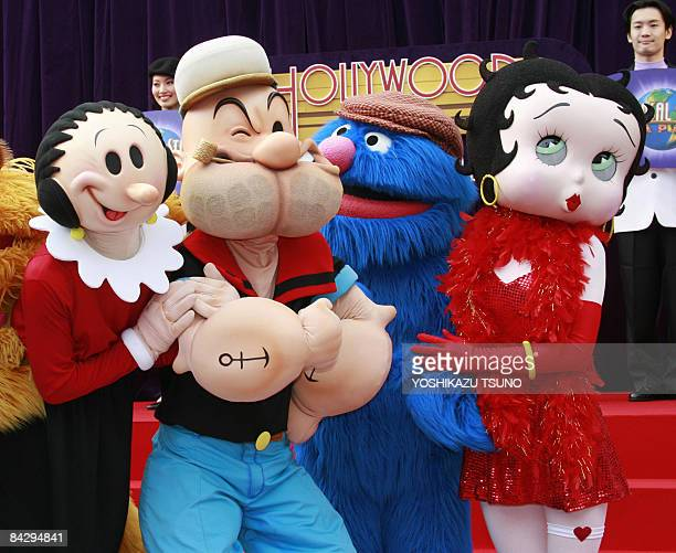 Cartoon Characters Universal Studios : Betty boop stock photos and pictures getty images